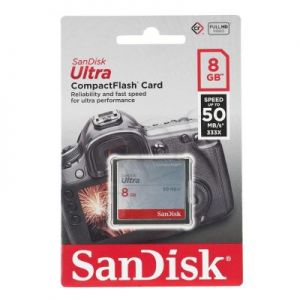 SANDISK COMPACT FLASH 8GB ULTRA