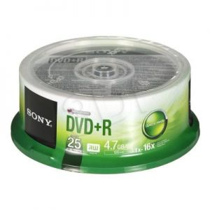 DVD+R Sony 25DPR47SP 4,7GB 16x
