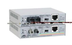 Allied Telesis (AT-MC116XL) 10/100TX to 10FL/100SX SC Media Converte 850nm