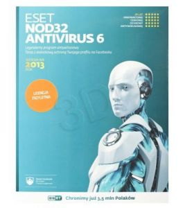 ESET NOD32 Antivirus BOX - 1 STAN/36M