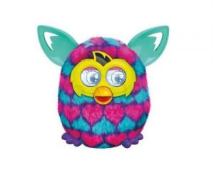 FURBY BOOM SWEET HASBRO A4342 A6118 PINK AND BLUE HEARTS