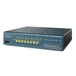 CISCO ASA5505-BUN-K9 Firewall 10 Users, 8 ports FE