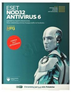 ESET NOD32 ANTIVIRUS BOX - 3 STAN/12M