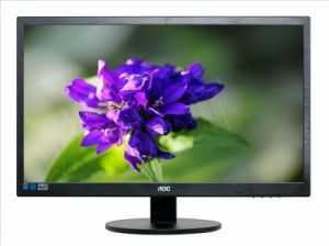 "MONITOR AOC LED 23.6"" E2470SWHE"