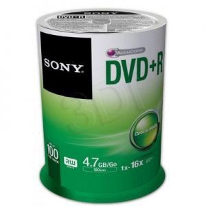 DVD+R Sony 100DPR47SP 4,7GB 16x