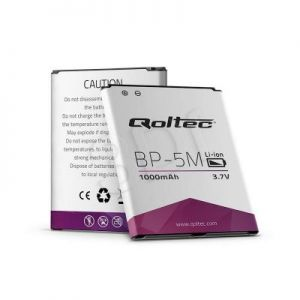 QOLTEC BATERIA DO NOKIA BP-5M 6220C 8600 | 1000MAH
