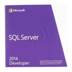 MS SQL Svr Developer Edtn 2014 English DVD 1 Clt (BOX)